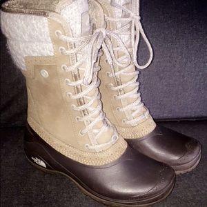 Women's NorthFace waterproof winter boots